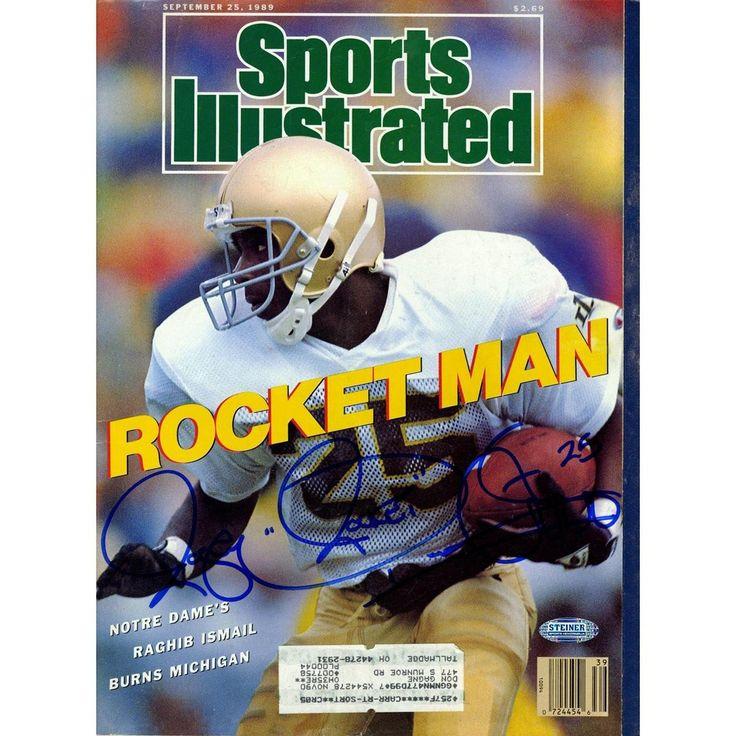 Rocket Ismail Signed 9251989 Sports Illustrated Magazine