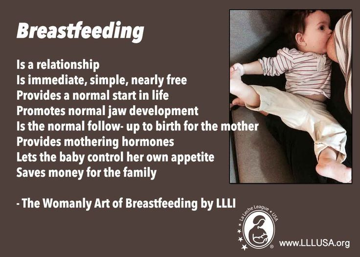 "Some advantages of #breastfeeding from La Leche League International's ""The Womanly Art of Breastfeeding"" - a classic bestselling guide that has been retooled, refocused, and updated for today's mothers and lifestyles. Real–mom wisdom, expert information, and proven strategies for breastfeeding at every stage. http://store.llli.org/public/profile/414"