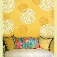 Wall stencils!  Just ordered this and am going to paint my laundry room with this!!!!