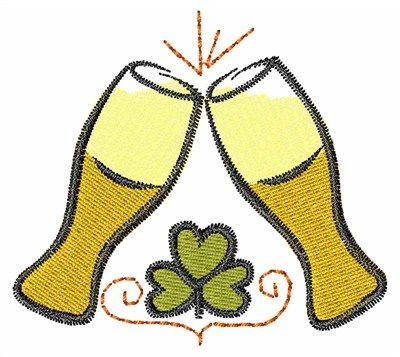 Irish Beer Machine Embroidery Design | Concord Collections
