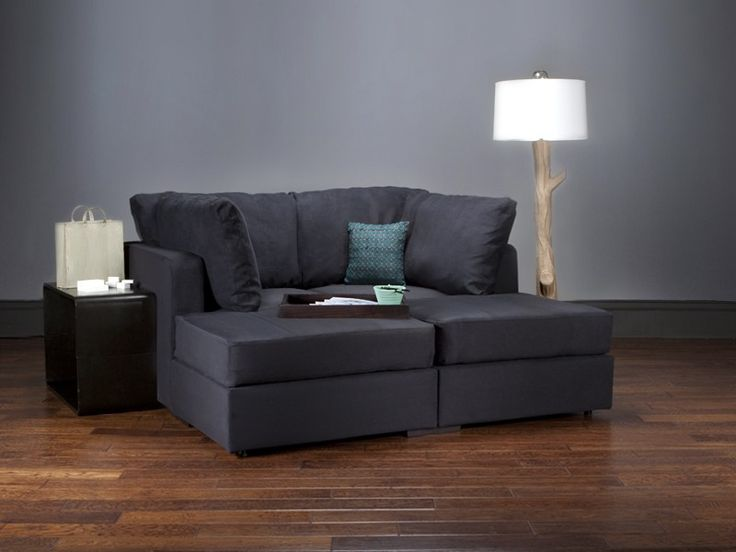 Gasp! A love sac couch! I would so spend 2,000$ for this.