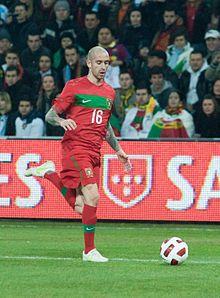 Raul Meireles play form Portugal National Football Team