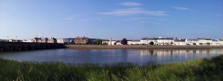A lovely view of Barnstaple, taken by The Imperial Hotel.