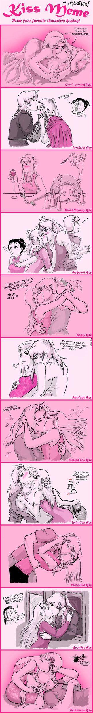 FMA- Kiss Meme by amburger91 on deviantART
