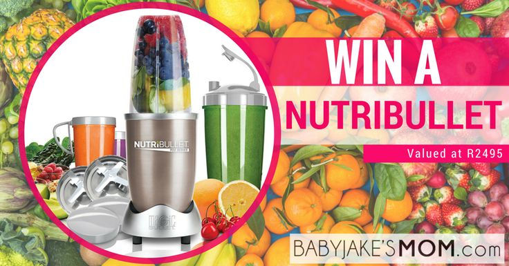 Top 10 Reasons why you want a Nutribullet for baby food