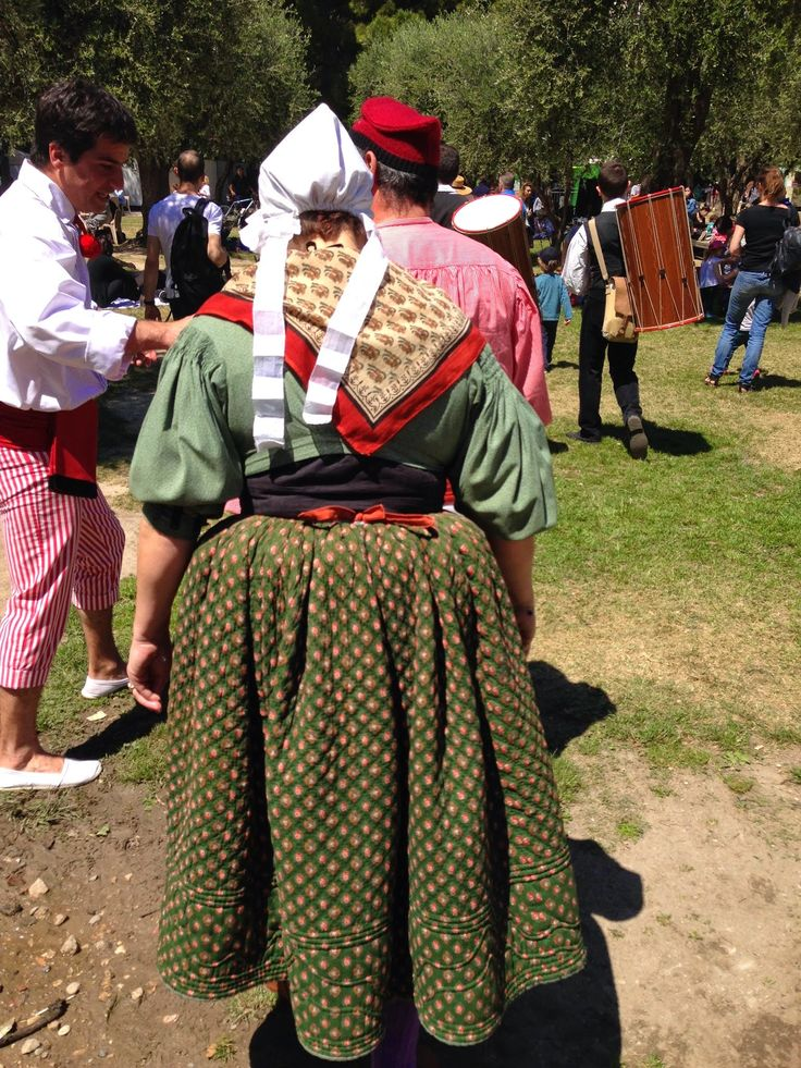 Provence Textiles Used In Traditional Dress For Folklore Festival In Nice.  The Inspiration For Some