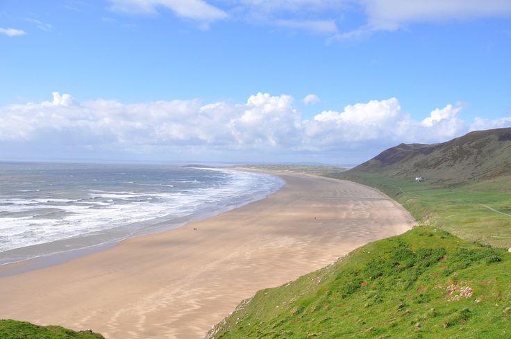 Rhossili Beach, Wales