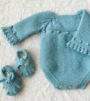 "40 Likes, 1 Comments - Pilar Medina (@mummylabores) on Instagram: ""#puntobebe#hachoamano#handmade#babyknit#knitting#knit#strikking#"""