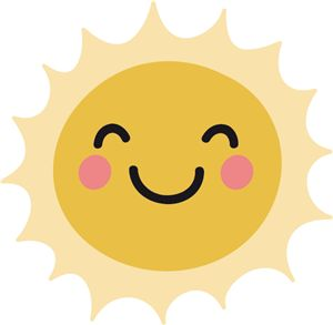 Love the sweet little sunshine for a onesie or beach pail!
