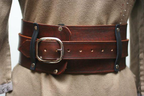 Warrior Leather Kidney Belt