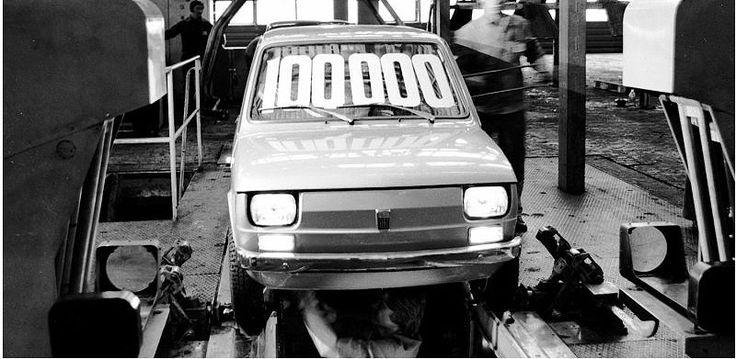 Fiat 126p nr.100 000