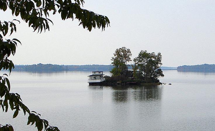 Callander Bay (part of Lake Nipissing) at Callander, Ontario