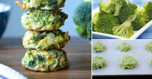 Por eso siempre es bueno tener a mano recetas que sirvan para hacer más atractivos ciertos alimentos. Esta receta en particular es muy fácil de hacer.    Ingredientes:  - 500 gramos de brócoli picado y escurrido - 1 taza de queso rallado (se recomienda cheddar) - 3 huevos - Sal, pimienta y aderezos con especias a elección - 1 taza de pan rallado  A mo snack.    Fuente: Broccoli Nuggets