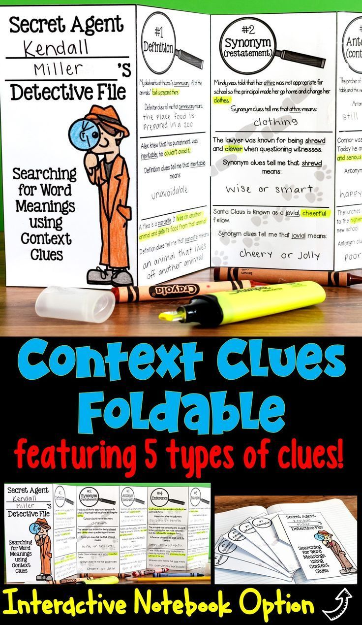 lesson plans on synonym antonym and context clues Context clues, including word synonym and antonym • apply knowledge of individual words in unknown compound words to determine their meanings 3rd grade.
