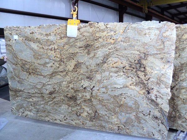 Golden Crystal Granite Slab 36720 | House | Pinterest | Granite Slab,  Granite And Crystals
