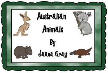 This is a fun unit for students to learn about Australian animals. Students are given a Park ranger badge to become a caring and knowledgeable ranger.