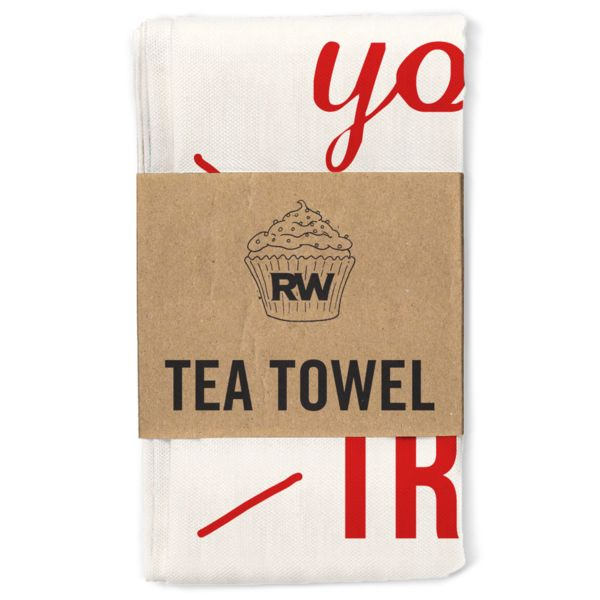 Shop > National Treasure Tea Towel | Robbie Williams