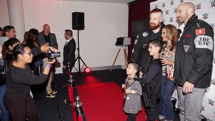 Sheamus & Cesaro and Mickie James meet the WWE Universe in Sydney