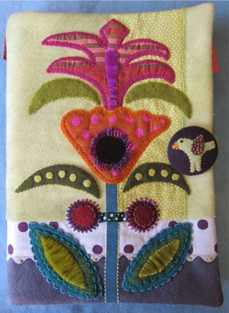 Sue Spargo- My newly designed Firefly Sewing Envelope