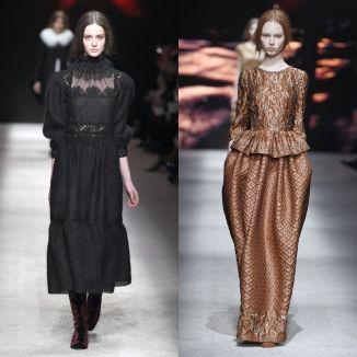 Moda z wybiegu: styl edwardiański i wiktoriański