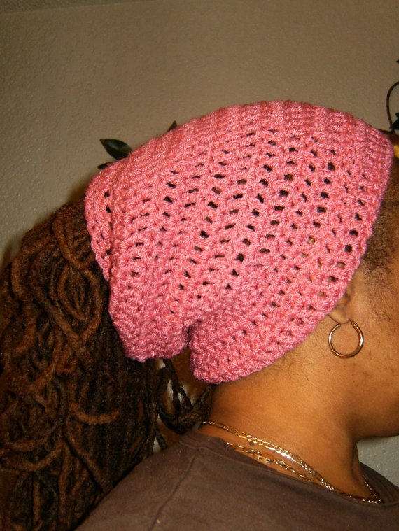 Crochet Dread Loc Tube Headband Pattern PInned by www.livelocs.com Revolutionary products for healthy, natural locs.