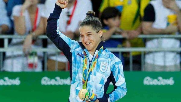Judo . Paula Pareto . Medalla de Oro . Juegos Olimpicos Rio 2016
