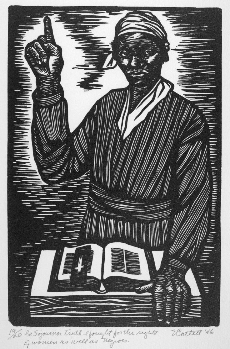 17 best images about women crusaders waypavers suffragists sojourner truth by elizabeth catlett