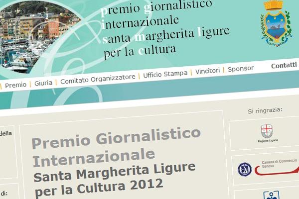 Premio Giornalistico Internazionale Santa Margherita Ligure per la Cultura - http://www.premiogiornalisticocultura.it