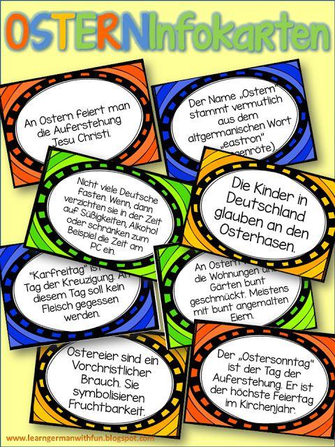 informationen zum thema ostern in deutschland schule ostern in deutschland ostern und. Black Bedroom Furniture Sets. Home Design Ideas