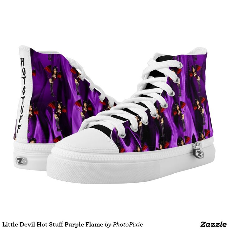 Little Devil Hot Stuff Purple Flame