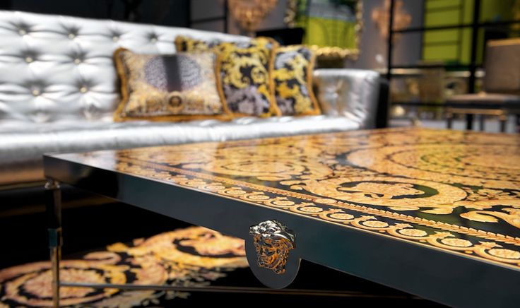 Versace Home Collection 2014 VERSACE HOME AND MINOTTI