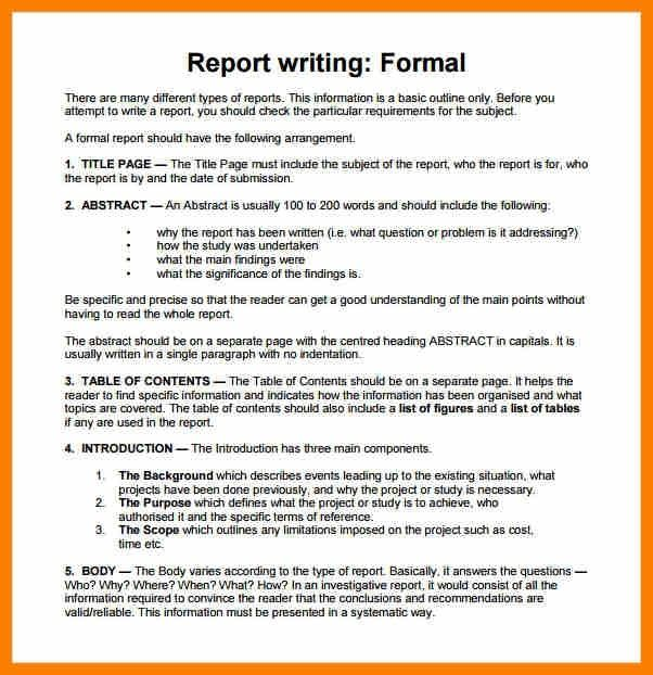 Sle Report Writing Format Pdf Gratitude41117 Skills Abstract Example For