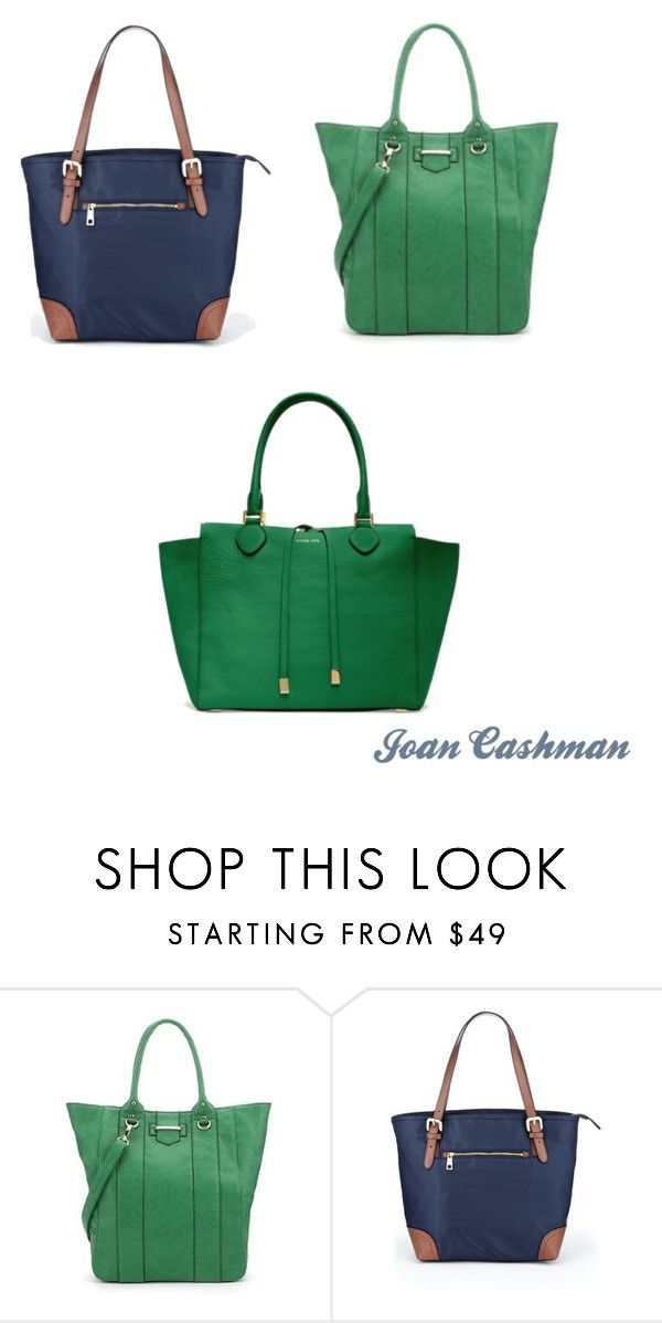"""Totes"" by joancashman ❤ liked on Polyvore featuring Michael Kors, Marks & Spencer and tote bag"