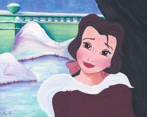 """""""Belle's In Love"""" By Paige O'Hara."""