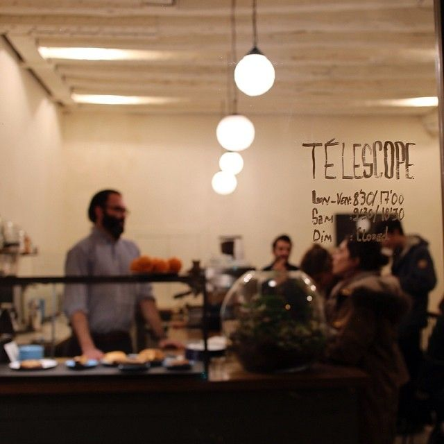Telescope Cafe, Paris