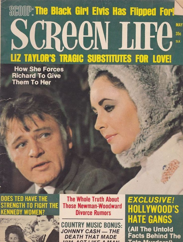 elizabeth taylor life magazine   MAY 1970 SCREEN LIFE vintage movie magazine LIZ TAYLOR   eBay