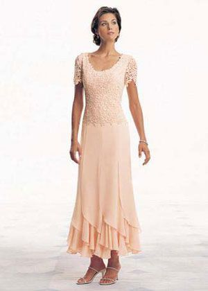 mother of the bride dresses tea length lace - Google Search