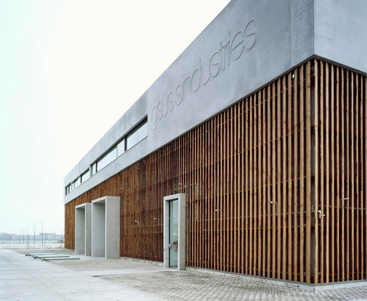 Image result for modern industrial building facade