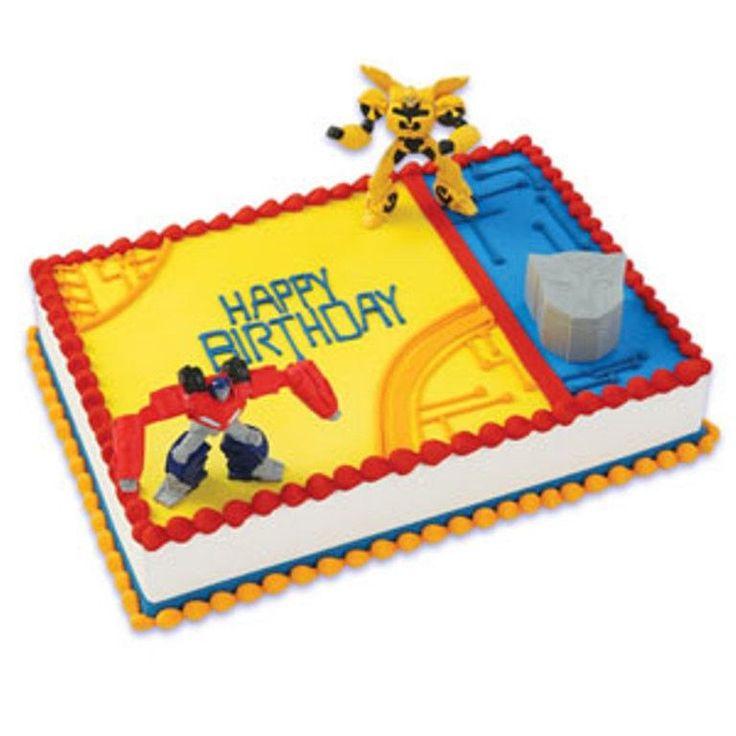 Best  Transformers Birthday Cakes Ideas On Pinterest - Cake decorating birthday