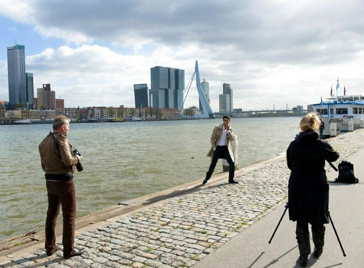 Shooting for the promo trailer in Rotterdam. Second shoot in July in London