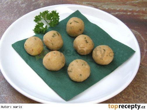 Polévkové knedlíčky ze strouhanky