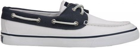 Witte Sperry sneaker
