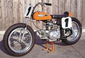 Harley's Sprint-based CR250 flat-tracker witha Italian Aermacchi engine