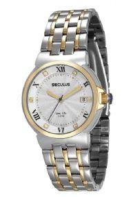 23513LPSVBA4 Relógio Feminino Seculus Long Life