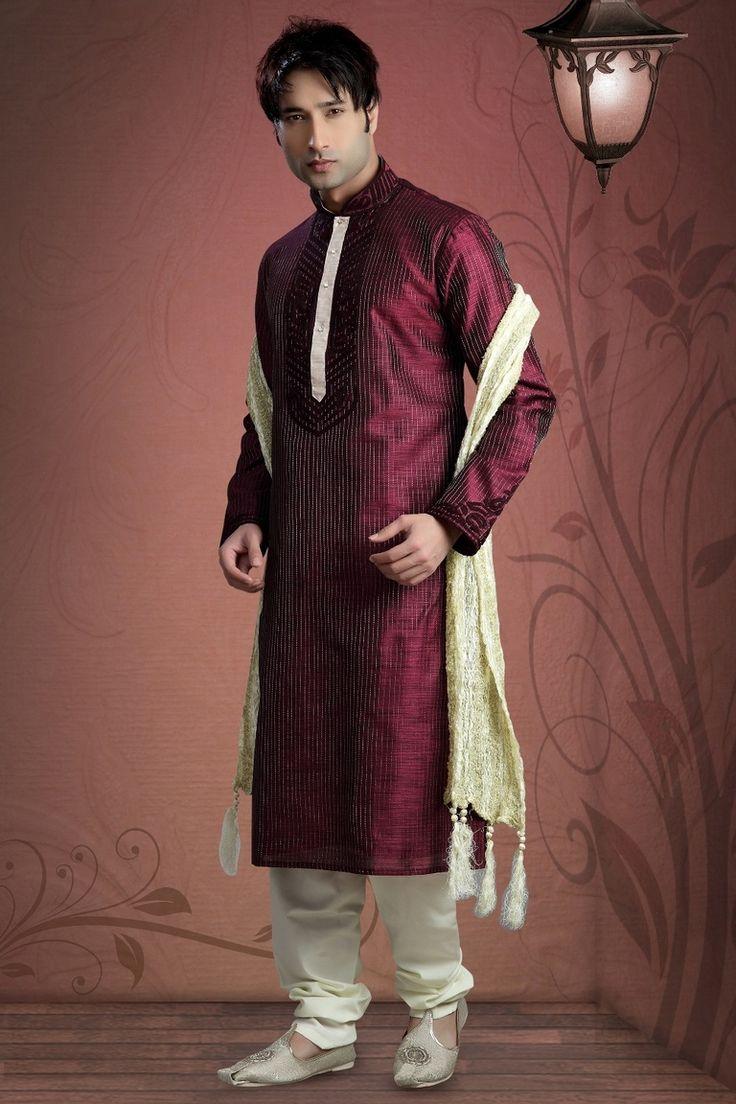 Beautiful Silk Ethnicwear Kurta Payjama