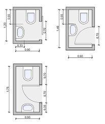 Resultado de imagen de medidas aseo   Planos de baños ...