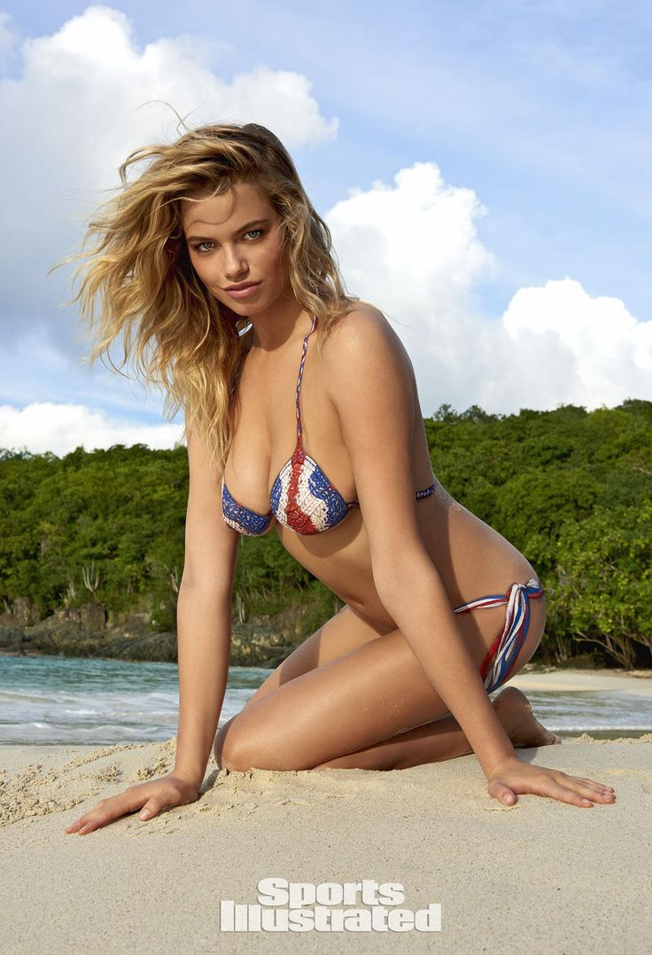 Hailey Clauson Swimsuit Body Paint Photos, Sports Illustrated Swimsuit 2015