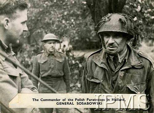 General Sosobowski commander 1st Polish Parachute Division