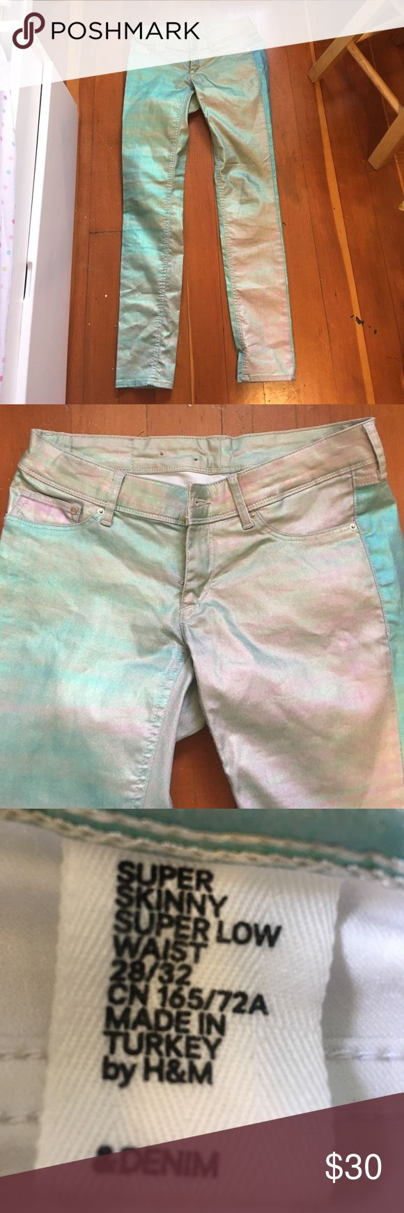 Holographic jeans Holographic Jeans Skinny