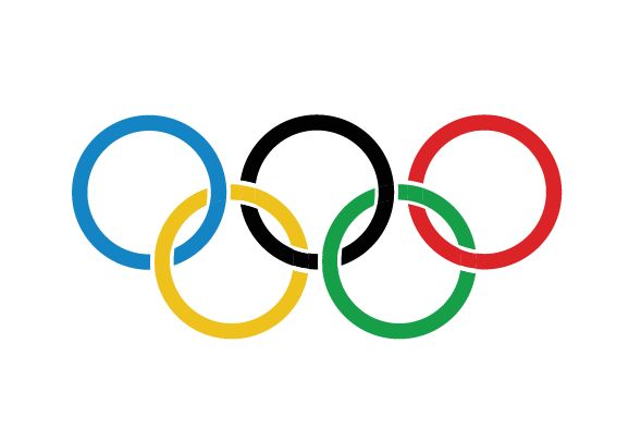 Olympic Pictograms created by olympic circles as modules.